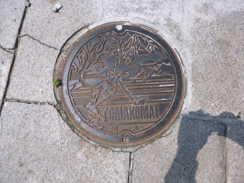 Ice hockey drain cover - are you sure this isn't Canada?
