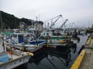 Fishing port, Nakoso, Iwaki, Fukushima.