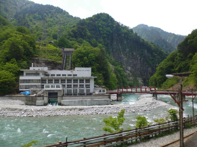 Hydropower in Kurobe