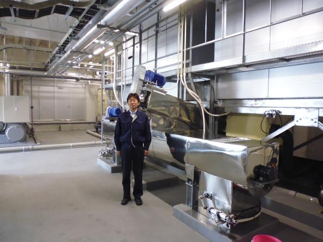 Yanai-san and the new ice machine