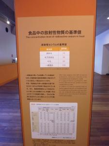 Marine radioactivity information board, Aquamarine Fukushima