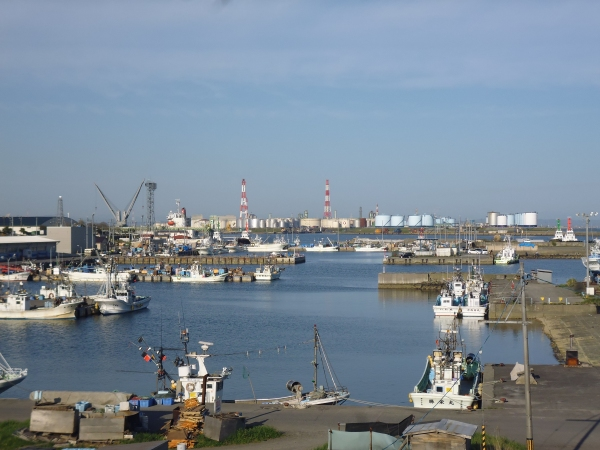Tomakomai fishing port